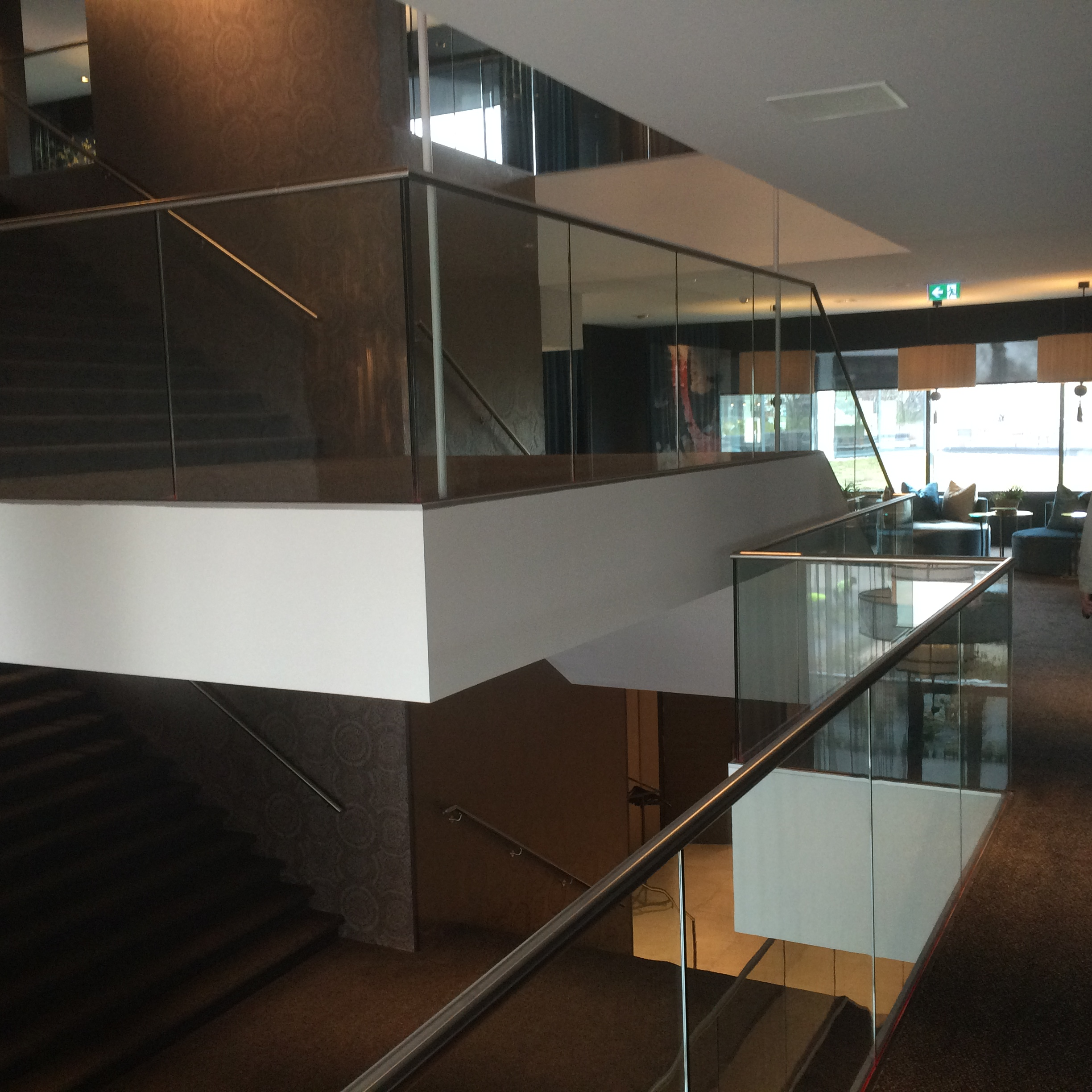 Structural glass balustrades systems